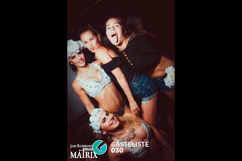 Partyfoto #5 Matrix Berlin vom 27.08.2016