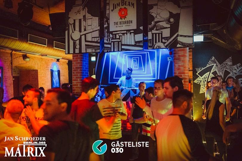 Partyfoto #106 Matrix Berlin vom 27.08.2016