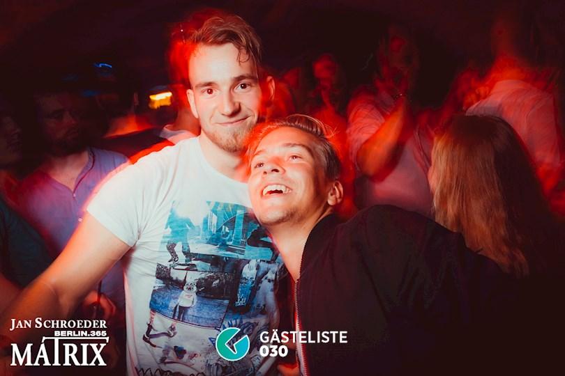 Partyfoto #161 Matrix Berlin vom 27.08.2016