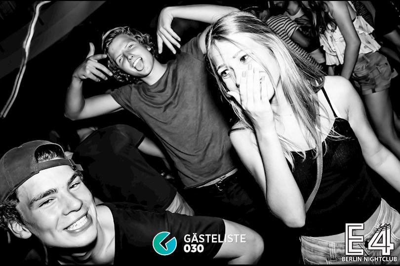 Partyfoto #1 E4 Berlin vom 27.08.2016