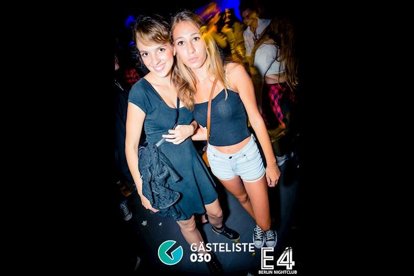 Partyfoto #5 E4 Berlin vom 27.08.2016