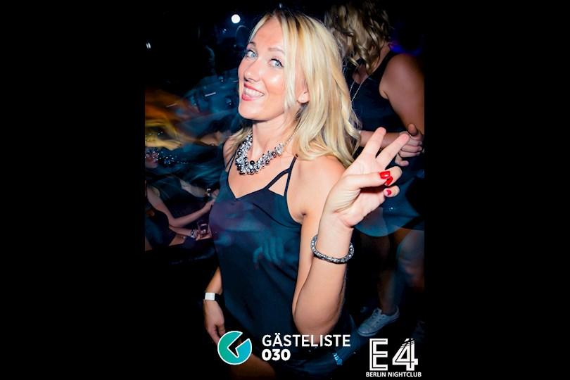 Partyfoto #2 E4 Berlin vom 27.08.2016