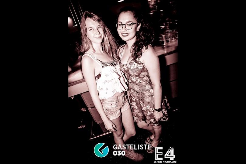Partyfoto #34 E4 Berlin vom 27.08.2016