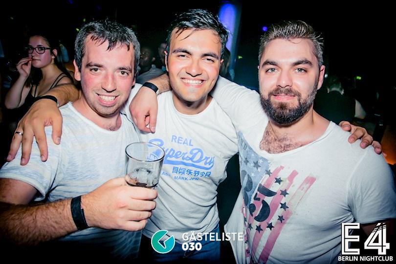 Partyfoto #18 E4 Berlin vom 27.08.2016