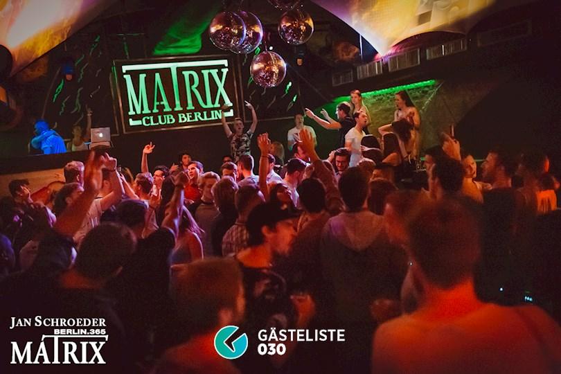 Partyfoto #1 Matrix Berlin vom 29.08.2016