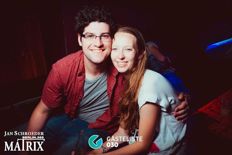 Partyfoto #101 Matrix Berlin vom 29.08.2016