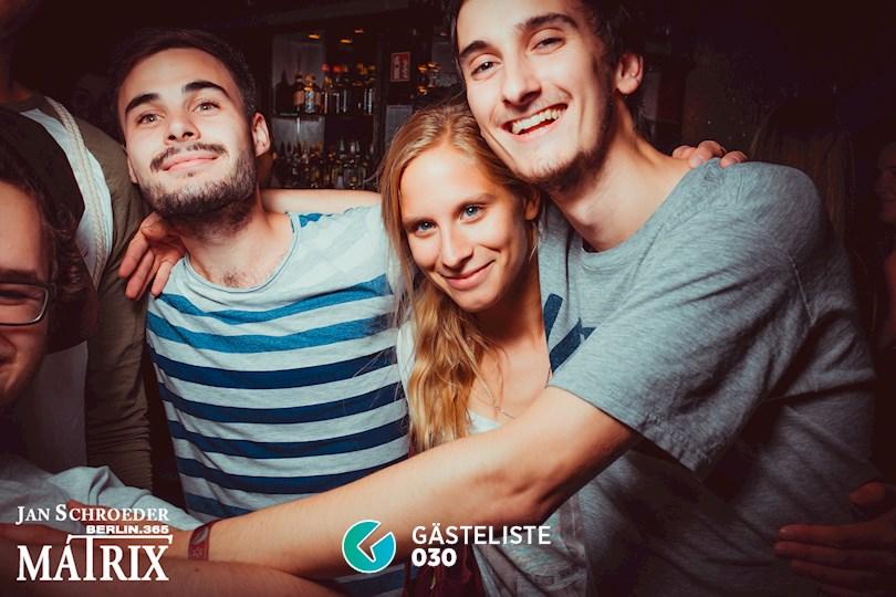 Partyfoto #126 Matrix Berlin vom 29.08.2016