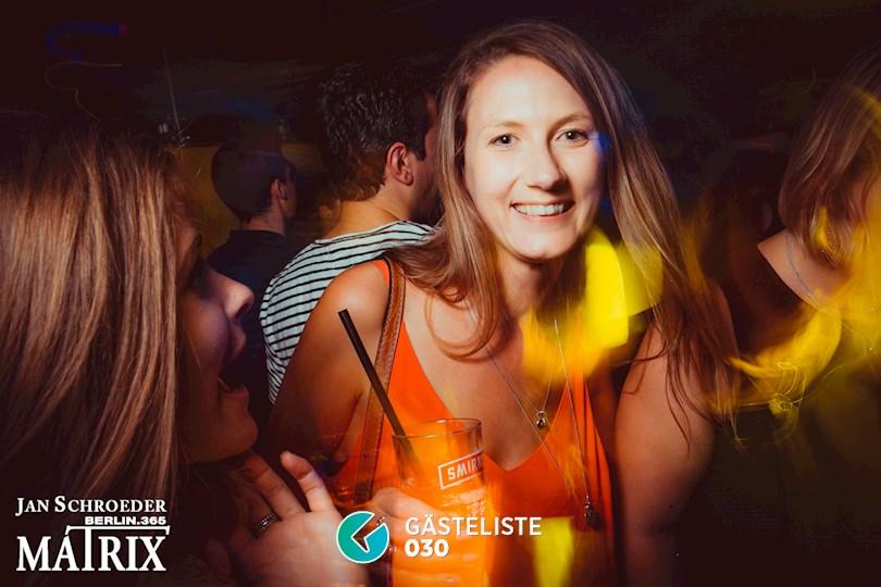 Partyfoto #54 Matrix Berlin vom 29.08.2016