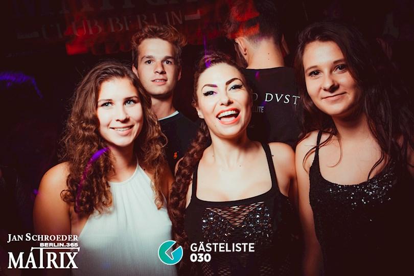 Partyfoto #109 Matrix Berlin vom 29.08.2016