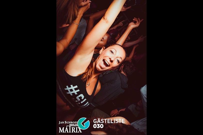 Partyfoto #3 Matrix Berlin vom 29.08.2016