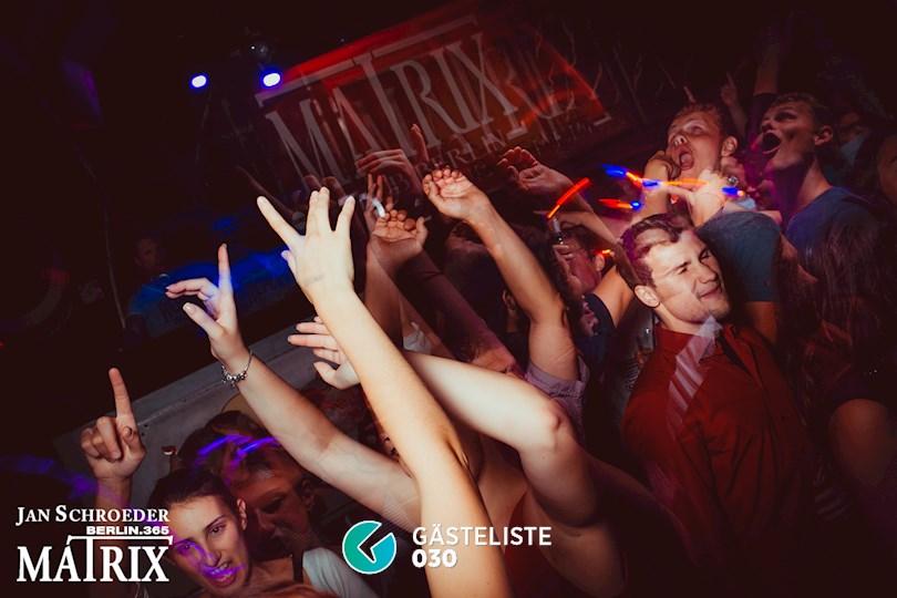 Partyfoto #16 Matrix Berlin vom 29.08.2016
