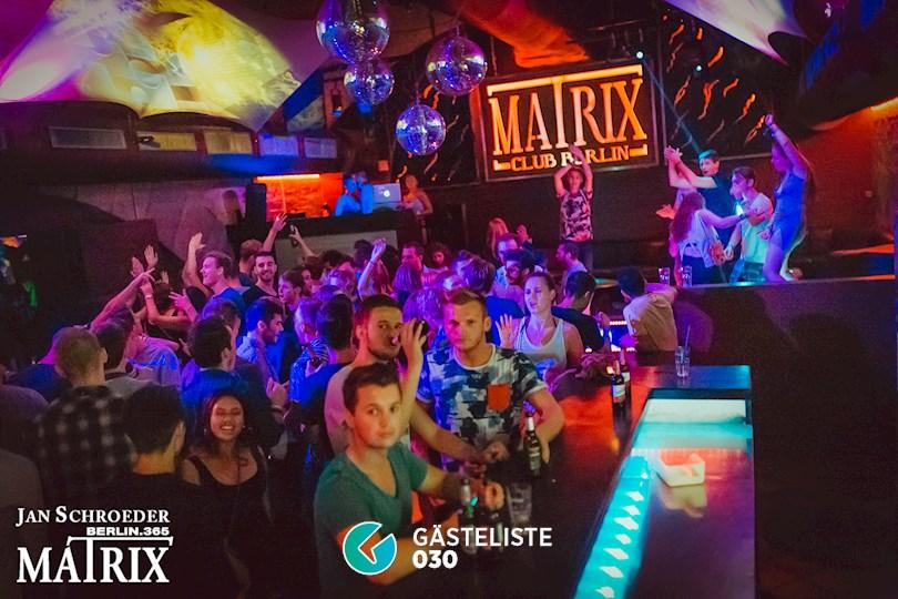 Partyfoto #137 Matrix Berlin vom 29.08.2016
