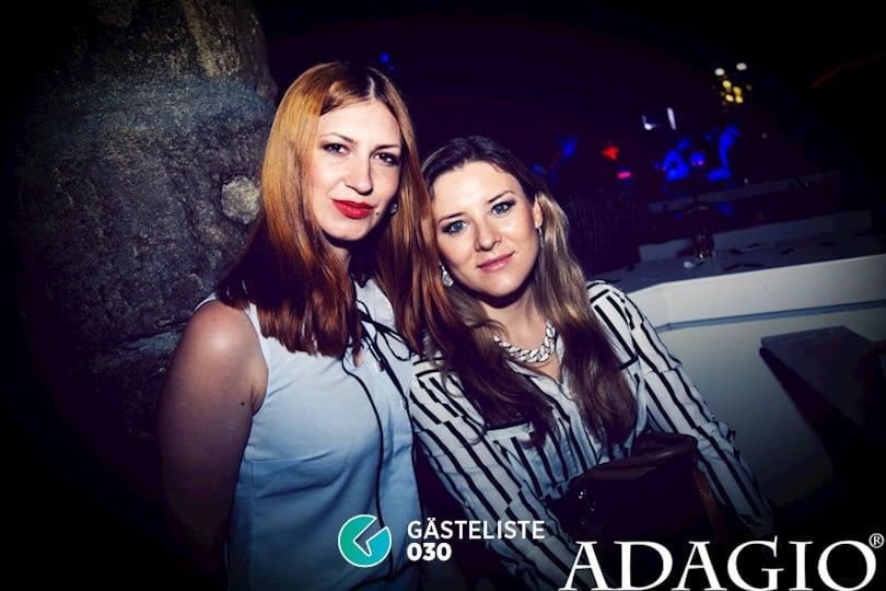 Partyfoto #47 Adagio Berlin vom 20.08.2016