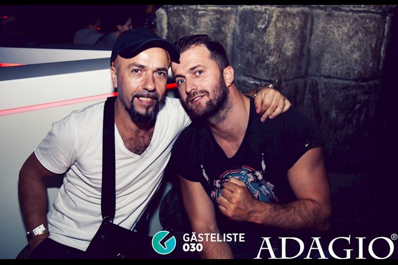 Partyfoto #46 Adagio Berlin vom 20.08.2016