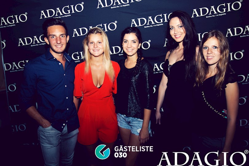 Partyfoto #14 Adagio Berlin vom 20.08.2016