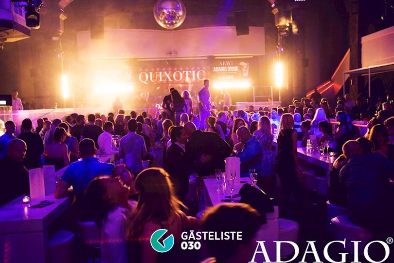 Partyfoto #1 Adagio Berlin vom 20.08.2016