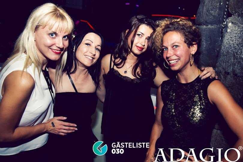 Partyfoto #11 Adagio Berlin vom 20.08.2016