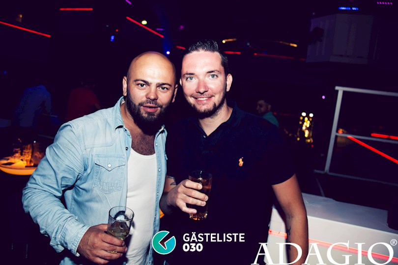 Partyfoto #4 Adagio Berlin vom 20.08.2016