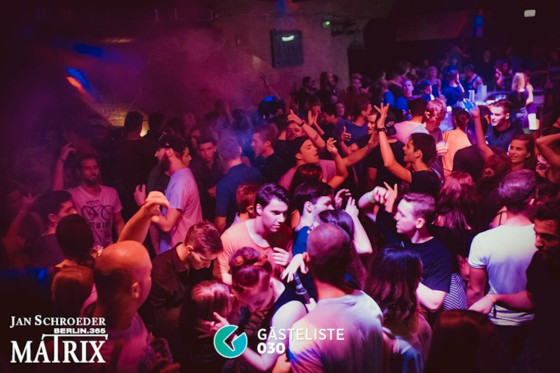 Partyfoto #87 Matrix Berlin vom 08.09.2016