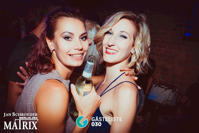 Partyfoto #36 Matrix Berlin vom 08.09.2016
