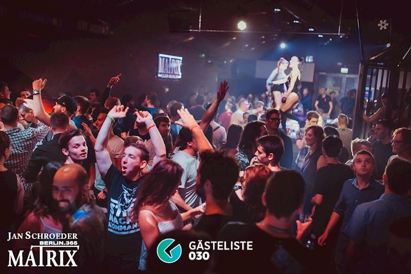 Partyfoto #33 Matrix Berlin vom 08.09.2016