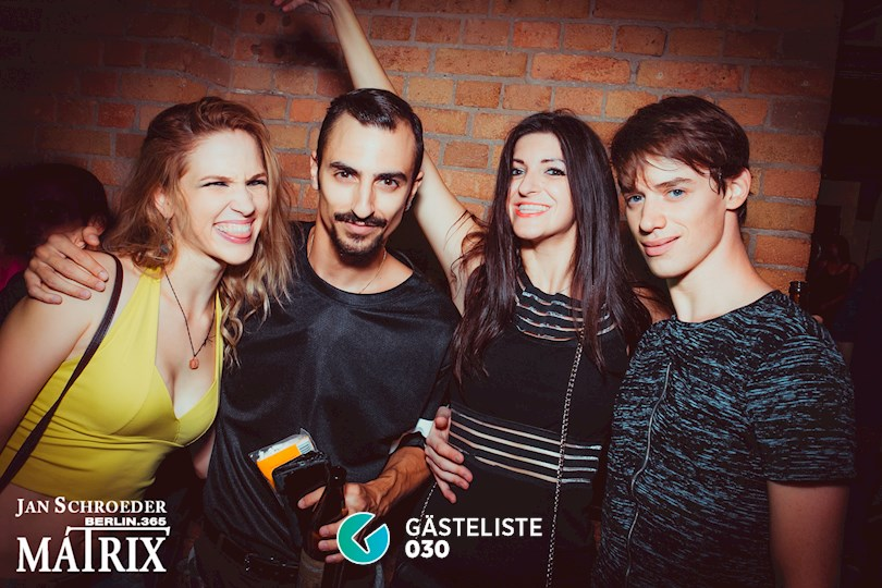 Partyfoto #190 Matrix Berlin vom 08.09.2016