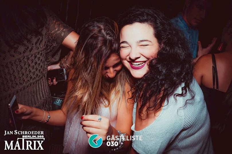 Partyfoto #185 Matrix Berlin vom 08.09.2016