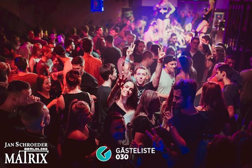 Partyfoto #122 Matrix Berlin vom 08.09.2016