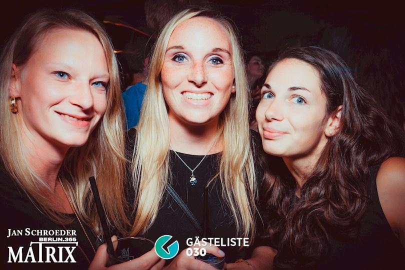 Partyfoto #112 Matrix Berlin vom 08.09.2016