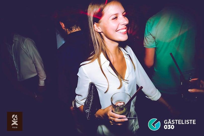 Partyfoto #1 Felix Berlin vom 05.09.2016