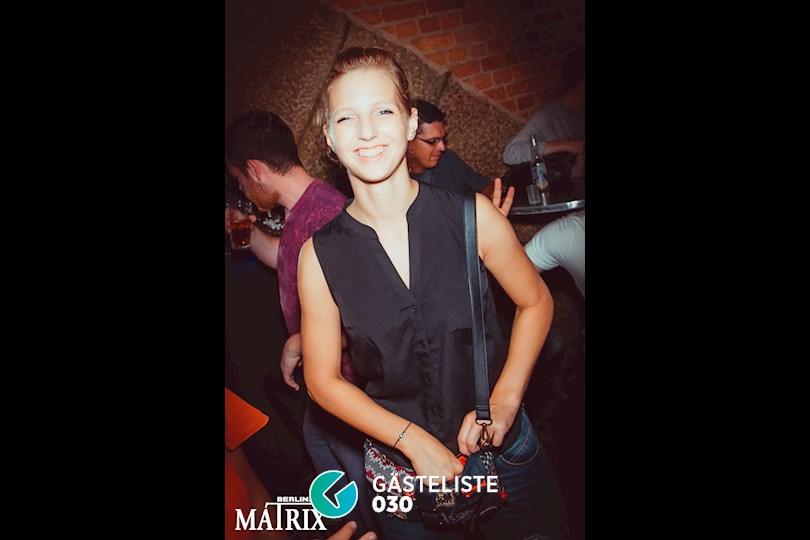 Partyfoto #14 Matrix Berlin vom 31.08.2016