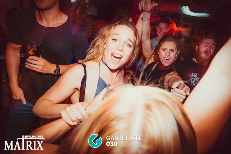 Partyfoto #93 Matrix Berlin vom 31.08.2016