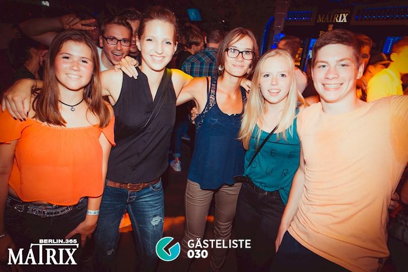 Partyfoto #58 Matrix Berlin vom 31.08.2016