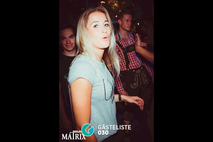 Partyfoto #63 Matrix Berlin vom 31.08.2016