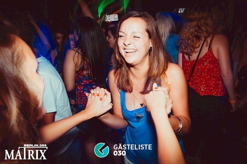 Partyfoto #48 Matrix Berlin vom 31.08.2016