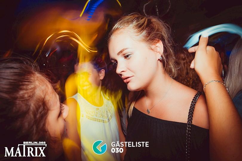 Partyfoto #36 Matrix Berlin vom 31.08.2016