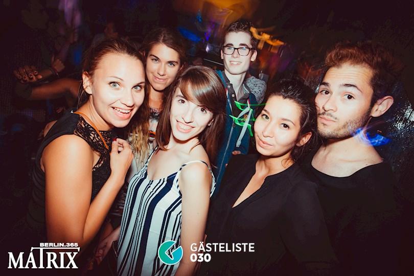Partyfoto #99 Matrix Berlin vom 31.08.2016