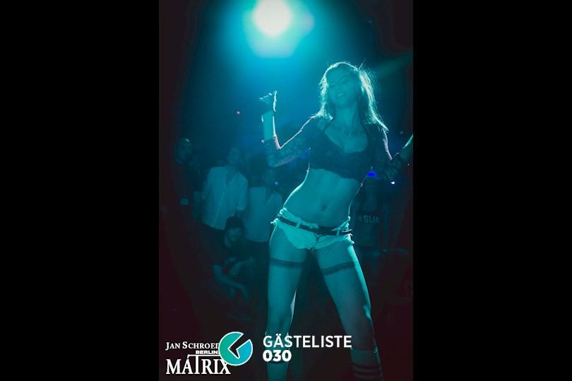 Partyfoto #16 Matrix Berlin vom 03.09.2016