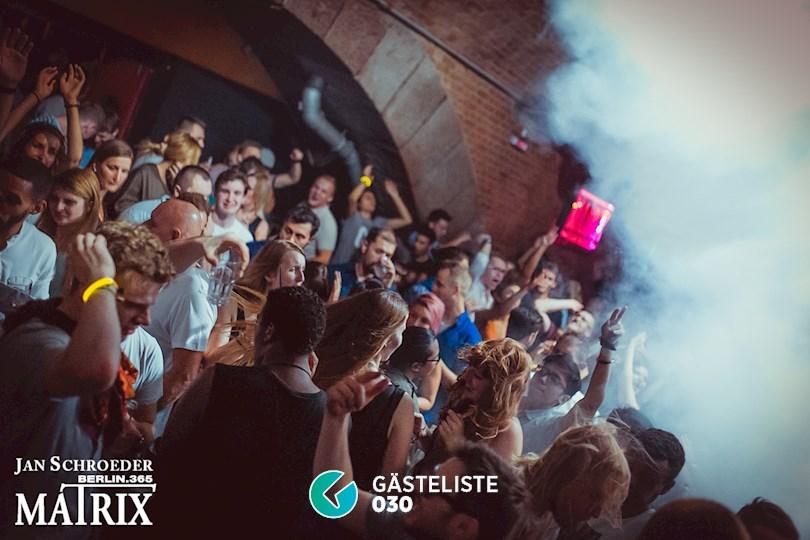 Partyfoto #58 Matrix Berlin vom 03.09.2016