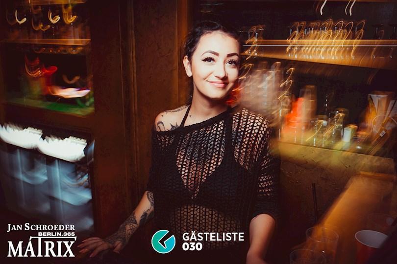 Partyfoto #107 Matrix Berlin vom 03.09.2016