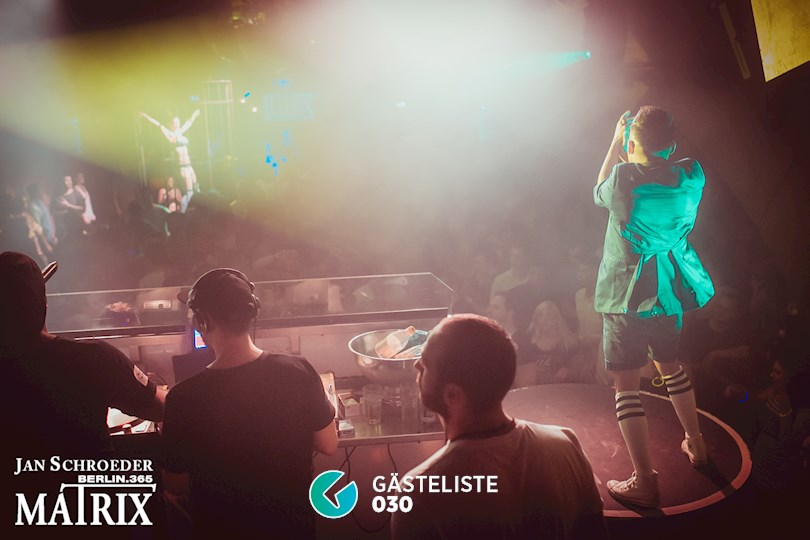 Partyfoto #45 Matrix Berlin vom 03.09.2016