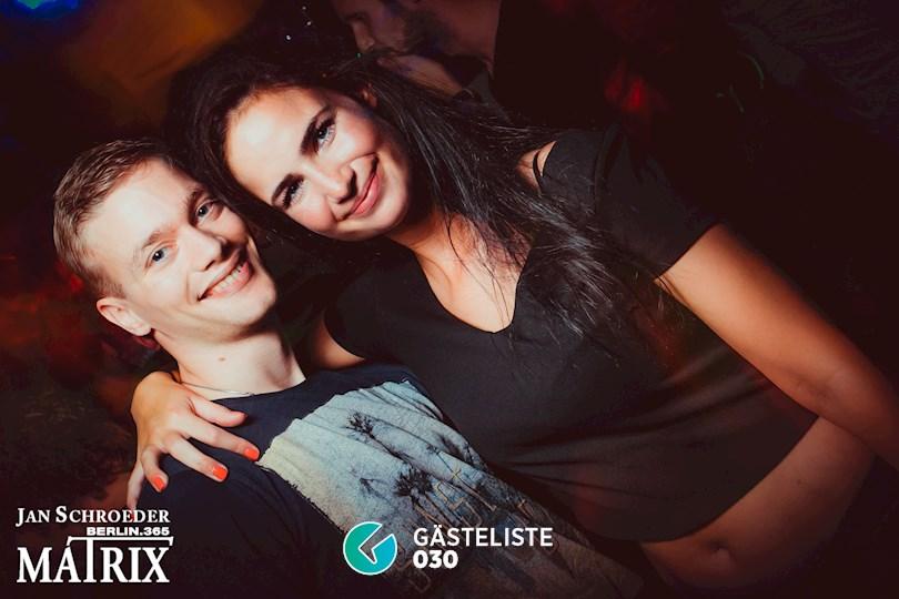 Partyfoto #152 Matrix Berlin vom 03.09.2016