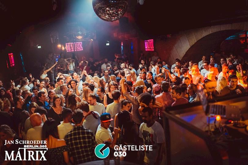 Partyfoto #48 Matrix Berlin vom 03.09.2016