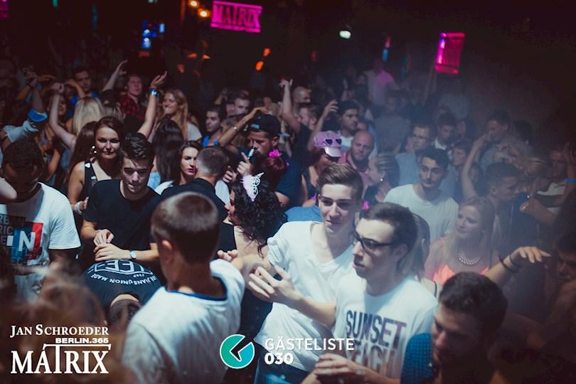 Partyfoto #62 Matrix Berlin vom 03.09.2016