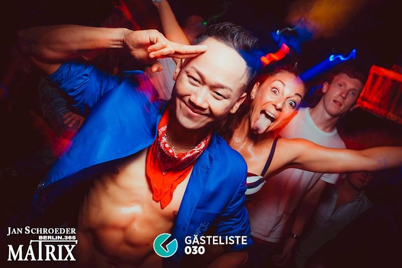 Partyfoto #36 Matrix Berlin vom 03.09.2016
