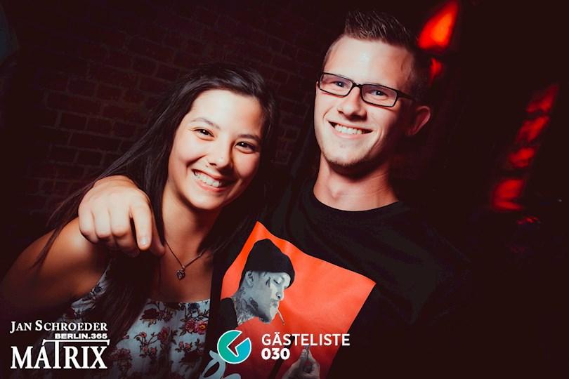 Partyfoto #83 Matrix Berlin vom 03.09.2016