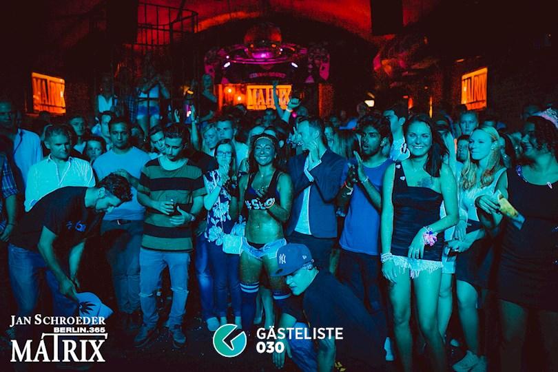 Partyfoto #124 Matrix Berlin vom 03.09.2016