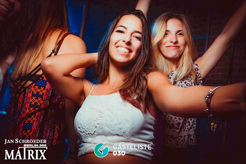 Partyfoto #18 Matrix Berlin vom 03.09.2016