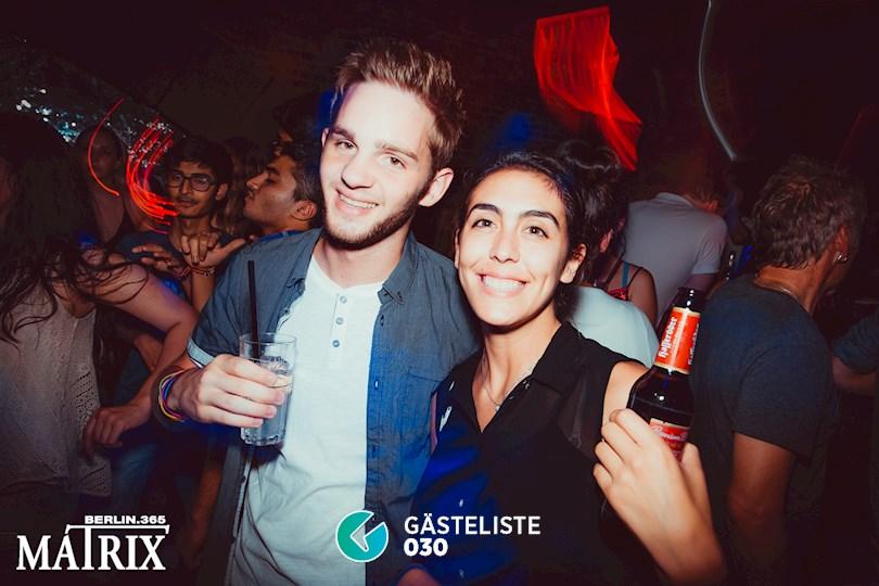 Partyfoto #100 Matrix Berlin vom 02.09.2016