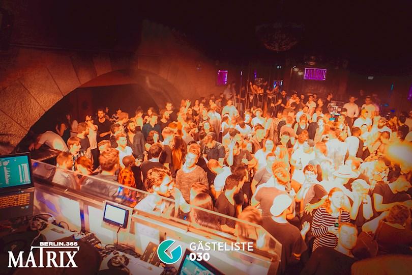 Partyfoto #50 Matrix Berlin vom 02.09.2016